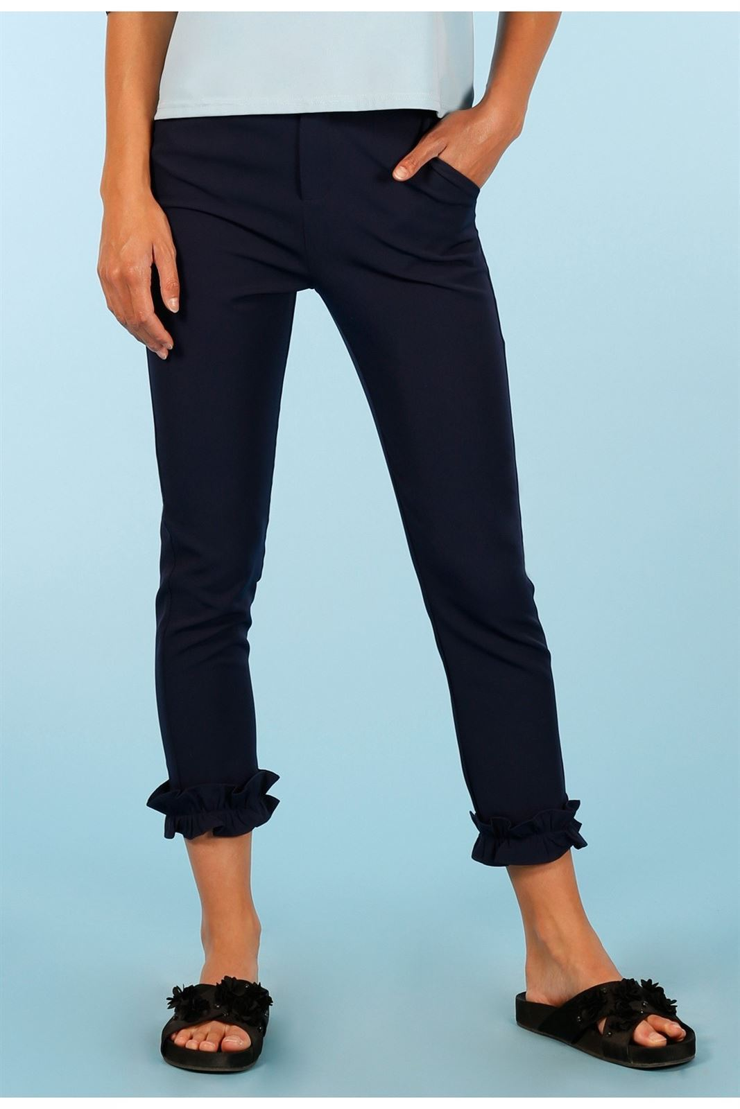 NAVY TROUSERS MINUETO - Imagen 1