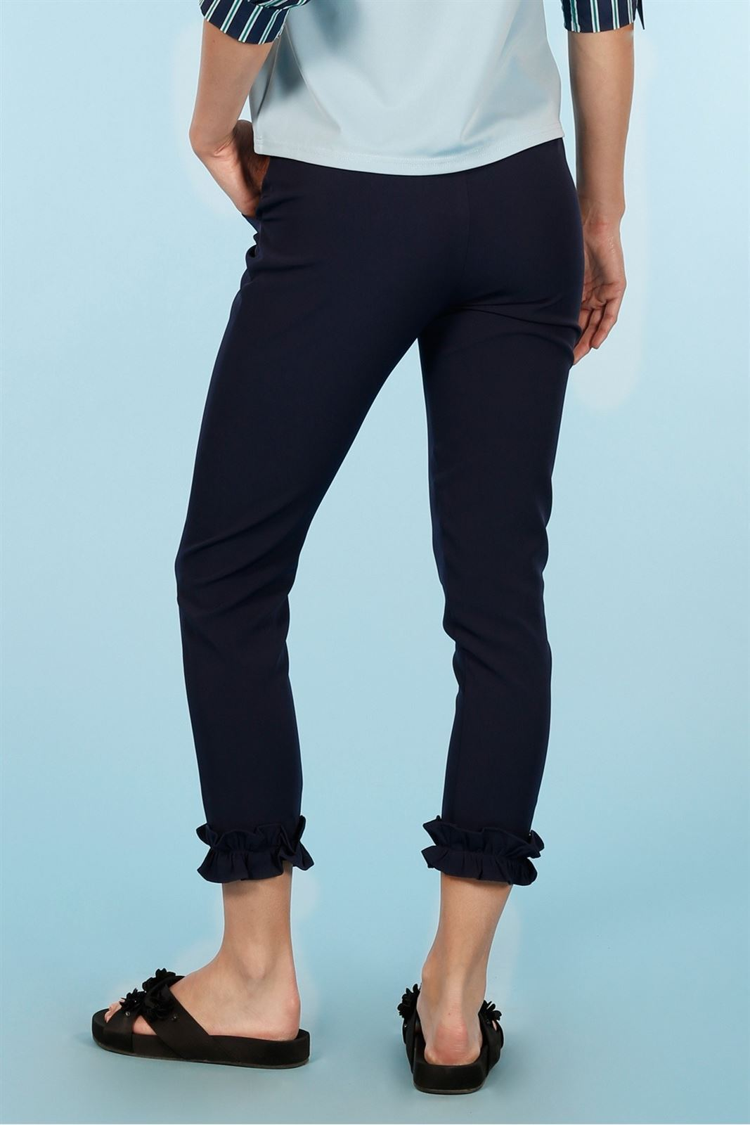 NAVY TROUSERS MINUETO - Imagen 2